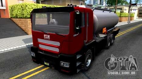 GTA V MTL Dune Oil Tanker para GTA San Andreas