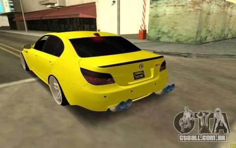 BMW 5 Series E60 para GTA San Andreas