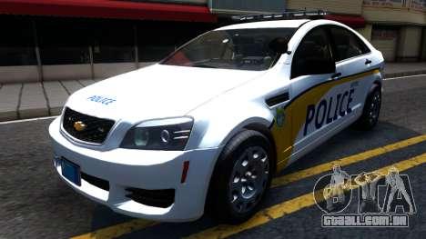 Chevy Caprice Metro Police 2013 para GTA San Andreas