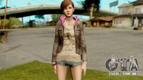 Resident Evil Revelations 2 - Moira Burton para GTA San Andreas segunda tela