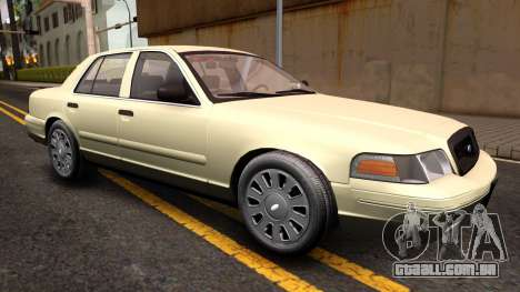 Ford Crown Victoria Unmarked 2009 para GTA San Andreas vista direita