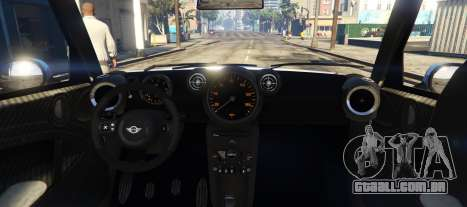 GTA 5 Mini Countryman traseira vista lateral esquerda
