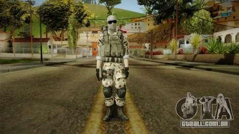 Resident Evil ORC Spec Ops v2 para GTA San Andreas segunda tela