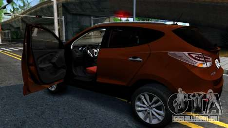 Hyundai ix35 Aze para GTA San Andreas vista direita