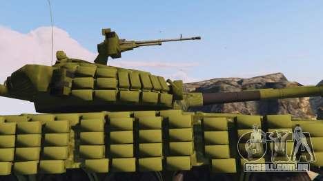 GTA 5 Tank T-72 vista lateral direita