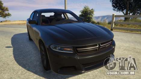 GTA 5 Dodge Charger 2016 voltar vista