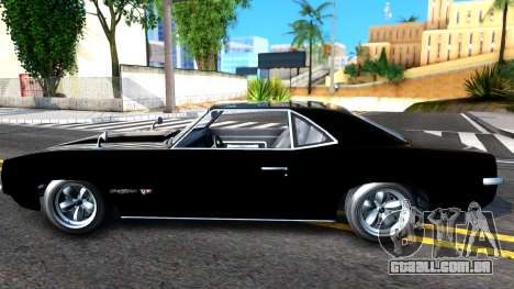 GTA V Declasse Vigero para GTA San Andreas esquerda vista