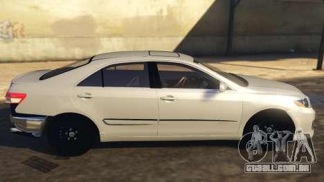 Toyota Camry 2011 DoN DoN Edition para GTA 5