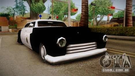 Hermes Classic Police Las Venturas para GTA San Andreas