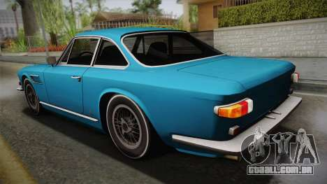 Maserati Serbin 4000 v0.1 (Beta) para GTA San Andreas esquerda vista