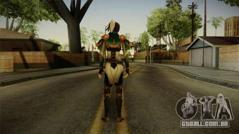 Dynasty Warriors 8 - Xing Cai para GTA San Andreas terceira tela