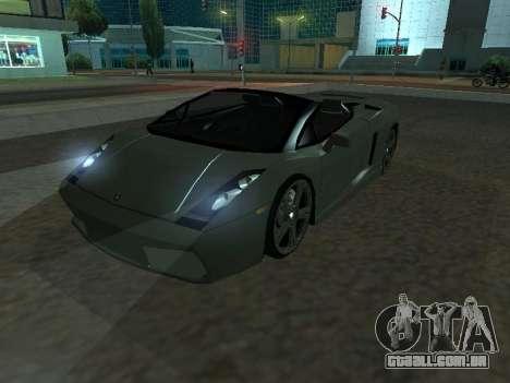 Lamborghini Galardo Spider para GTA San Andreas