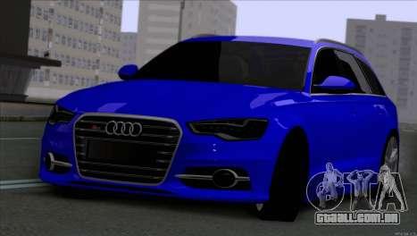 AUDI RS6 2014 para GTA San Andreas