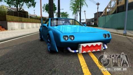 New Buffalo Custom para GTA San Andreas vista traseira