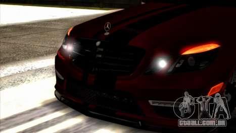 Mercedes-Benz E63 (W212) AMG 2010 para GTA San Andreas vista direita