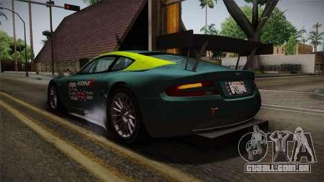 Aston Martin Racing DBRS9 GT3 2006 v1.0.6 YCH para as rodas de GTA San Andreas