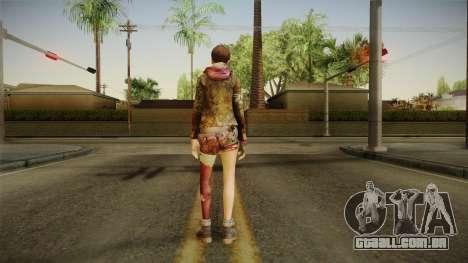 RE Revelations 2 - Moira Burton Survivor para GTA San Andreas terceira tela
