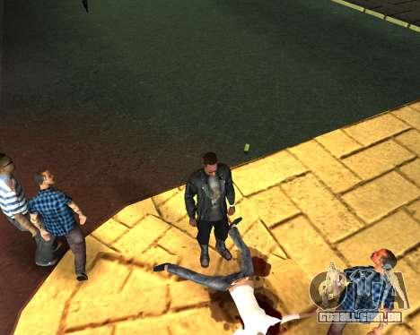 Para transportar o cadáver de 2016 para GTA San Andreas quinto tela