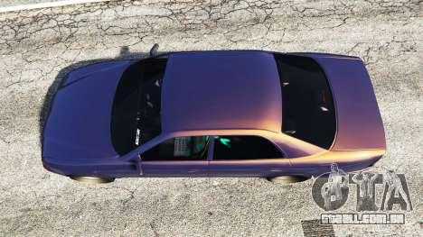 GTA 5 Toyota Chaser (JZX100) [add-on] voltar vista