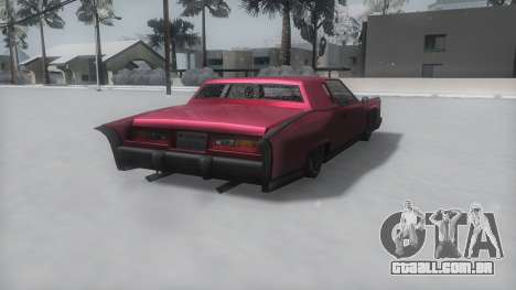 Remington Winter IVF para GTA San Andreas esquerda vista