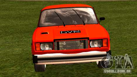 VAZ 2105 patch 4.0 para GTA San Andreas vista direita