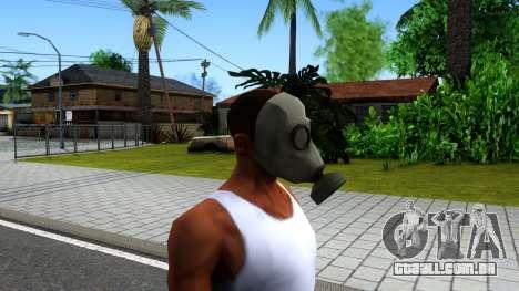 Gas Mask From Call of Duty Modern Warfare 2 para GTA San Andreas terceira tela