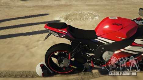 Kawasaki ZX6R Drag
