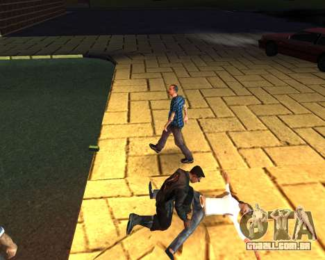 Para transportar o cadáver de 2016 para GTA San Andreas sexta tela