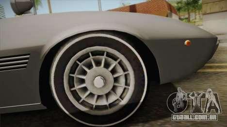 Maserati Ghibli v0.1 (Beta) para GTA San Andreas vista direita