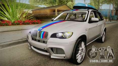 BMW X5M 2012 Special para GTA San Andreas