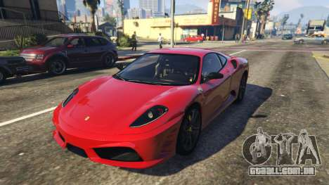 Ferrari 430 Scuderia para GTA 5