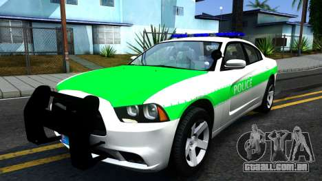 Dodge Charger German Police 2013 para GTA San Andreas