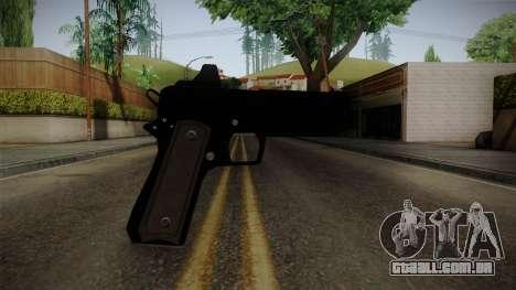 GTA 5 Heavy Pistol para GTA San Andreas terceira tela
