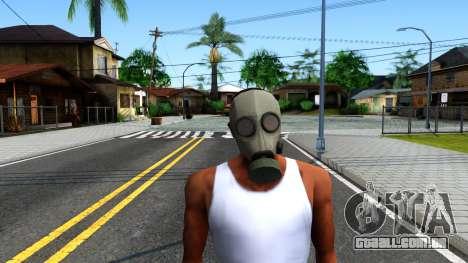 Gas Mask From Call of Duty Modern Warfare 2 para GTA San Andreas segunda tela