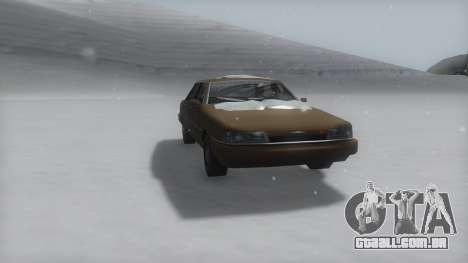Primo Winter IVF para GTA San Andreas vista direita