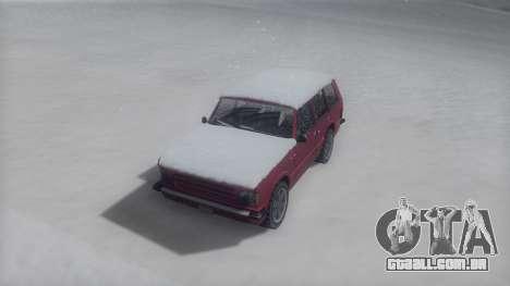 Huntley Winter IVF para GTA San Andreas vista direita