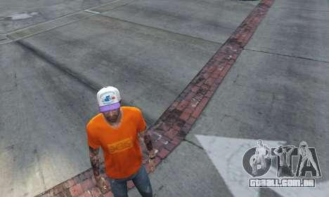 GTA 5 Cap Charlotte Hornets para Trevor segundo screenshot
