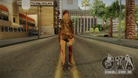 RE Revelations 2 - Moira Burton Survivor para GTA San Andreas segunda tela