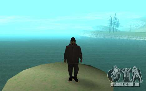 Winter Gangster para GTA San Andreas