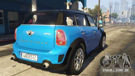 GTA 5 Mini Countryman vista lateral esquerda