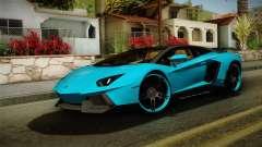 Lamborghini Aventador Itasha Rias Gremory para GTA San Andreas