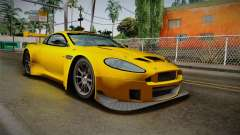 Aston Martin Racing DBRS9 GT3 2006 v1.0.6 Dirt para GTA San Andreas