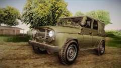 УАЗ-3151 CoD4 MW Remasterizada de FERTILIZAÇÃO i