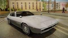 Maserati Ghibli v0.1 (Beta) para GTA San Andreas