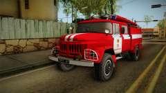 O Amur ZIL 131 Caminhão de bombeiros