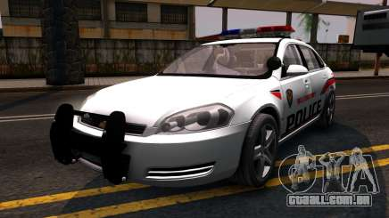 Chevy Impala Blueberry PD 2009 para GTA San Andreas