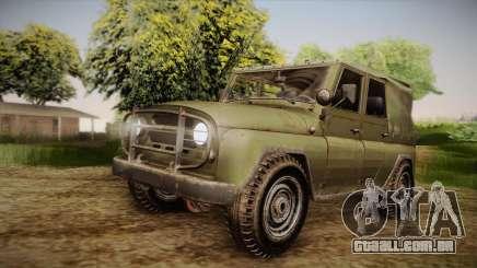 УАЗ-3151 CoD4 MW Remasterizada de FERTILIZAÇÃO in vitro para GTA San Andreas