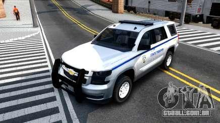2015 Chevy Tahoe San Andreas State Trooper para GTA San Andreas