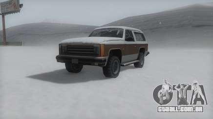Rancher Winter IVF para GTA San Andreas