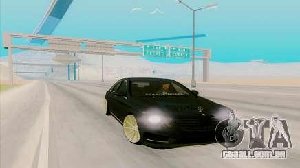 Mercedes Benz S63 para GTA San Andreas